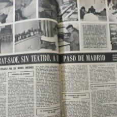 Coleccionismo de Los Domingos de ABC: EN ALCOHETE , LA ALCARRIA , PRIMERA COOPERATIVA REGIDA POR LOCOS . DOS PÁGINAS. AÑO 1969. Lote 218420463