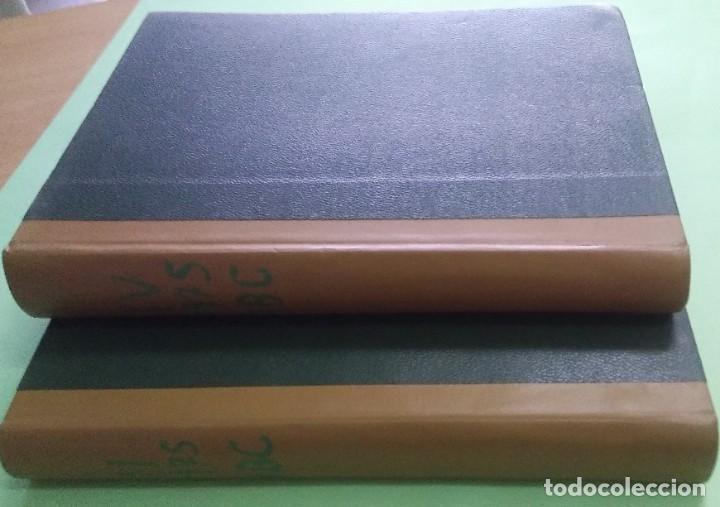 LOS DOMINGOS DE ABC - 2 TOMOS 1975 -( 6 ABRIL - 29 JUNIO) (5 OCTUBRE - DICIEMBRE) (Coleccionismo - Revistas y Periódicos Modernos (a partir de 1.940) - Los Domingos de ABC)