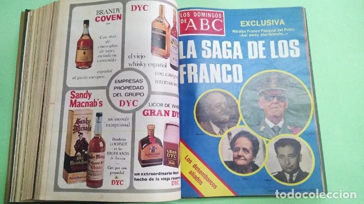 Coleccionismo de Los Domingos de ABC: LOS DOMINGOS DE ABC - 2 TOMOS 1975 -( 6 ABRIL - 29 JUNIO) (5 OCTUBRE - DICIEMBRE) - Foto 2 - 221782100