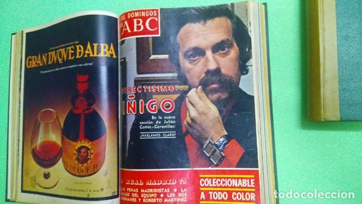 Coleccionismo de Los Domingos de ABC: LOS DOMINGOS DE ABC - 2 TOMOS 1975 -( 6 ABRIL - 29 JUNIO) (5 OCTUBRE - DICIEMBRE) - Foto 5 - 221782100