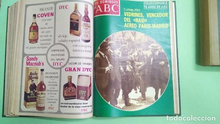 Coleccionismo de Los Domingos de ABC: LOS DOMINGOS DE ABC - 2 TOMOS 1975 -( 6 ABRIL - 29 JUNIO) (5 OCTUBRE - DICIEMBRE) - Foto 7 - 221782100