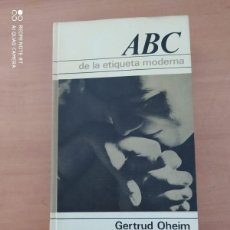 Coleccionismo de Los Domingos de ABC: ABC DE LA ETIQUETA MODERNA. Lote 222090480