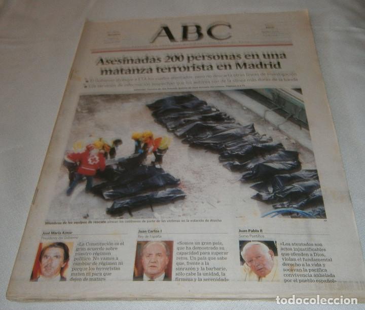 PERIODICO ABC Nº 32241 MARZO 2004 (Coleccionismo - Revistas y Periódicos Modernos (a partir de 1.940) - Los Domingos de ABC)