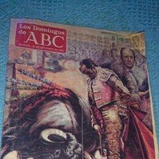 Coleccionismo de Los Domingos de ABC: VIEJA REVISTA, LOS DOMINGOS DE ABC, AÑO 1985,ADIOS MAESTRO ANTONIO CHENEL. Lote 224150265