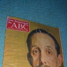 Coleccionismo de Los Domingos de ABC: VIEJA REVISTA, LOS DOMINGOS DE ABC AÑO 1986, CIEN AÑOS DE ALFONSO XIII, CAPÍTULO VIDA FRANCO. Lote 224150820