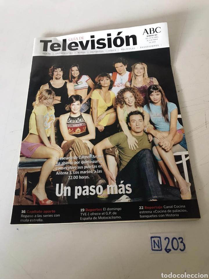 ABC TELEVISIÓN (Coleccionismo - Revistas y Periódicos Modernos (a partir de 1.940) - Los Domingos de ABC)