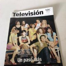 Coleccionismo de Los Domingos de ABC: ABC TELEVISIÓN. Lote 224528816