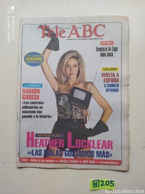 TELE ABC (Coleccionismo - Revistas y Periódicos Modernos (a partir de 1.940) - Los Domingos de ABC)