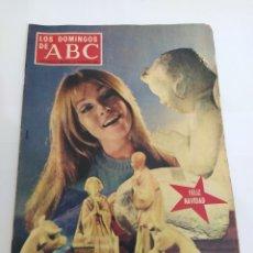Coleccionismo de Los Domingos de ABC: REVISTA LOS DOMINGOS DE ABC - 22 DICIEMBRE 1968. Lote 225885350