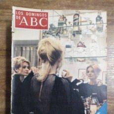 Coleccionismo de Los Domingos de ABC: MFF.- LOS DOMINGOS DE ABC.- 29 OCTUBRE 1972.- LICIA CALDERON, INTERPRETE DE COMEDIAS.-. Lote 227620075