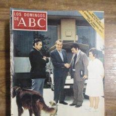 Coleccionismo de Los Domingos de ABC: MFF.- LOS DOMINGOS DE ABC.- 8 OCTUBRE 1972.- COLON (II), POR SALVADOR DE MADARIAGA.-. Lote 227622356