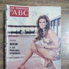 Coleccionismo de Los Domingos de ABC: MFF.- LOS DOMINGOS DE ABC.- 17 SEPTIEMBRE 1972.- RAQUEL WELCH, UNA HISPANA DEL AÑO 2000.-. Lote 227681445