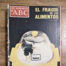 Coleccionismo de Los Domingos de ABC: MFF.- LOS DOMINGOS DE ABC.- 3 SEPTIEMBRE 1972.- ORNELLA MUTTI, EL ESPEJO EN LOS LABIOS.-. Lote 227687965