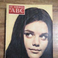 Coleccionismo de Los Domingos de ABC: MFF.- LOS DOMINGOS DE ABC.- 13 AGOSTO 1972.- LA HIJA DE MARIA MONTEZ O LA MITIFICACION DE UN MITO.-. Lote 227744915