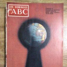 Coleccionismo de Los Domingos de ABC: MFF.- LOS DOMINGOS DE ABC.- 6 AGOSTO 1972.- ANNY DUPEREY: UNA CARRERA FULGURANTE.- MACBETH NEGRO.-. Lote 227746480