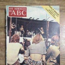 Coleccionismo de Los Domingos de ABC: MFF.- LOS DOMINGOS DE ABC.-9 JULIO 1972.- CLAUDIO SANCHEZ-ALBORNOZ, MAESTRO DE HISTORIADORES.-. Lote 227761840