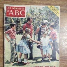 Coleccionismo de Los Domingos de ABC: MFF.- LOS DOMINGOS DE ABC.- 2 JULIO 1972.- LOPEZ BRAVO, EN FAMILIA.- NUMERO EXTRAORDINARIO.-. Lote 227762765