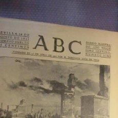 Coleccionismo de Los Domingos de ABC: ABC 14 DE AGOSTO DE 1941. LUCHA EN LOS CAMPOS DEL ESTE.. Lote 227844110