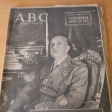Coleccionismo de Los Domingos de ABC: ABC 1 ABRIL 1964. Lote 230023610