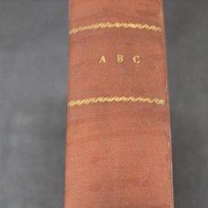 Colecionismo de Los Domingos de ABC: ABC NOVIEMBRE Y DICIEMBRE 1947 TOMO. Lote 234979445