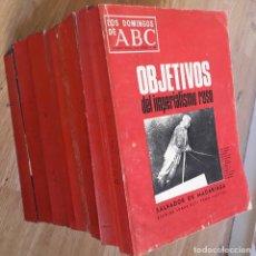 Coleccionismo de Los Domingos de ABC: LOS DOMINGOS DE ABC 1968-1970 . 125 REVISTAS ENCUADERNADAS EN 9 TOMOS. Lote 237745940