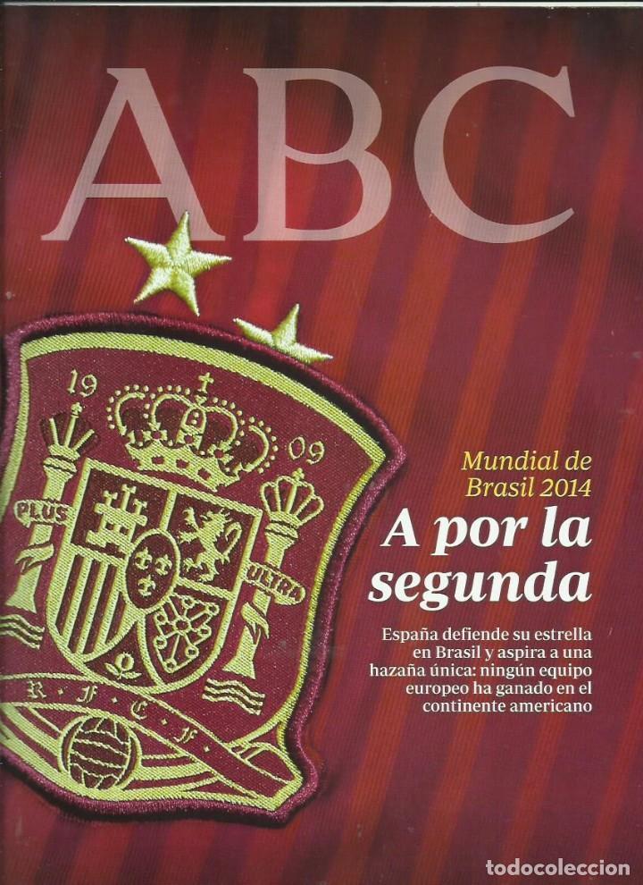 MUNDIAL BRASIL 2014 (Coleccionismo - Revistas y Periódicos Modernos (a partir de 1.940) - Los Domingos de ABC)