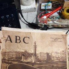 Coleccionismo de Los Domingos de ABC: DIARIO ABC NUMERO EXTRAORDINARIO DEDICADO A LAS PLAYAS DE CADIZ. Lote 243016450