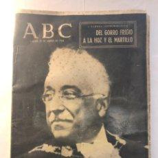 Coleccionismo de Los Domingos de ABC: ABC - MARTES 31 MARZO 1964 - DIARIO, NO DOMINICAL - EL PRIMER PRESIDENTE DE LA 2ª SEGUNDA REPUBLICA. Lote 243027885