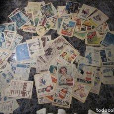 Coleccionismo de Los Domingos de ABC: ANTIGUA PUBLICIDAD PROCEDENTE DE LOS DOMINGOS DE ABC, 1955-57. Lote 243172640