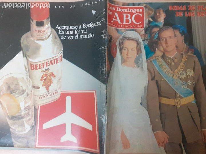 Coleccionismo de Los Domingos de ABC: Los Domingos del ABC. Mayo de 1987. Bodas de plata de los reyes. Suplemento Historia viva del Madrid - Foto 2 - 243265820