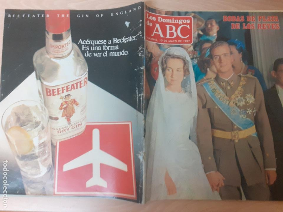 Coleccionismo de Los Domingos de ABC: Los Domingos del ABC. Mayo de 1987. Bodas de plata de los reyes. Suplemento Historia viva del Madrid - Foto 10 - 243265820
