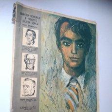 Coleccionismo de Los Domingos de ABC: REVISTA ABC DOMINGO, 8 DE NOVIEMBRE DE 1966. NÚMERO HOMENAJE A FEDERICO GARCÍA LORCA.. Lote 244645515