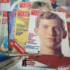 Colecionismo de Los Domingos de ABC: LOTE 19 LOS DOMINGOS DE ABC. REVISTAS ANTIGUAS 1986. Lote 245487770