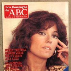 Coleccionismo de Los Domingos de ABC: LOS DOMINGOS DE ABC N° 1024 (1987). SÍLVIA TORTOSA,... COMPLETA (REAL MADRID),.... Lote 246454070