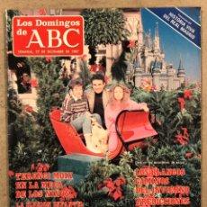Coleccionismo de Los Domingos de ABC: LOS DOMINGOS DE ABC N° 1025 (1987). TERENCI MOIX,... COMPLETA (REAL MADRID),.... Lote 246454525