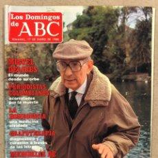Colecionismo de Los Domingos de ABC: LOS DOMINGOS DE ABC N° 1028 (1988). MIGUEL DELIBES, RICARDO ZAMORA,.... Lote 246456050