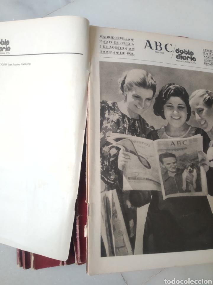 Coleccionismo de Los Domingos de ABC: ABC DOBLE DIARIO DE LA GUERRA CIVIL. NÚMEROS DEL 1 AL 15. - Foto 4 - 246720325
