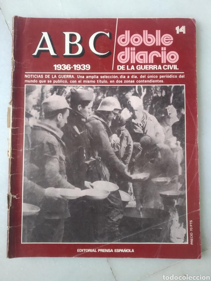 Coleccionismo de Los Domingos de ABC: ABC DOBLE DIARIO DE LA GUERRA CIVIL. NÚMEROS DEL 1 AL 15. - Foto 7 - 246720325