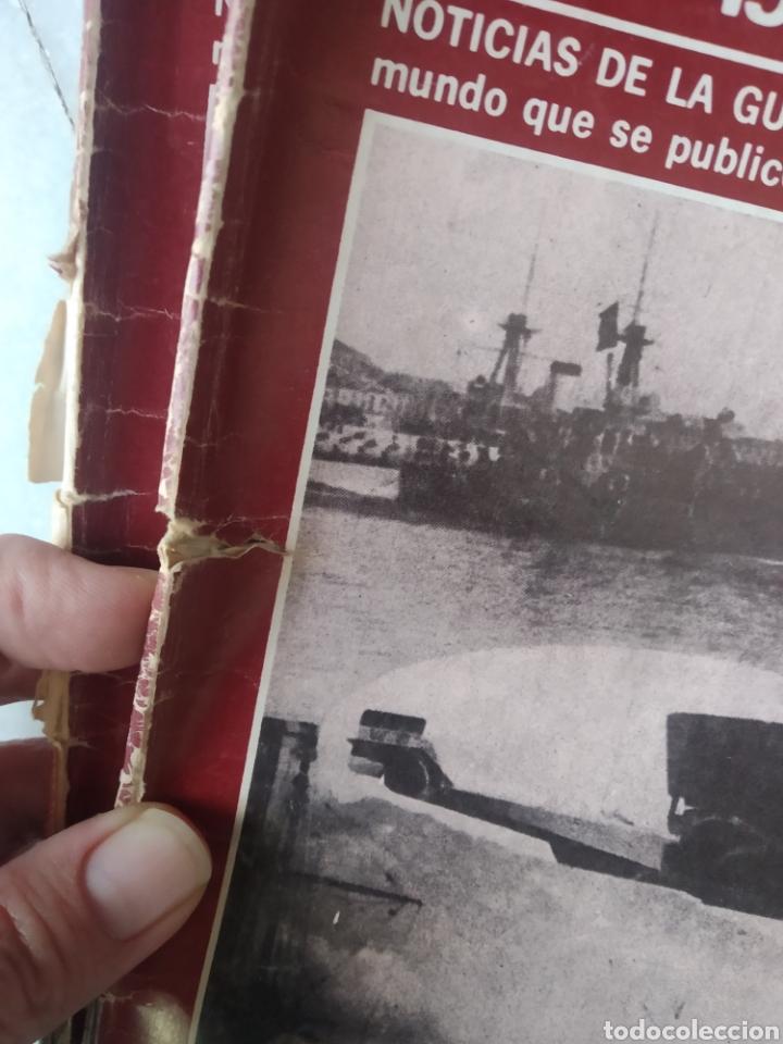Coleccionismo de Los Domingos de ABC: ABC DOBLE DIARIO DE LA GUERRA CIVIL. NÚMEROS DEL 1 AL 15. - Foto 8 - 246720325