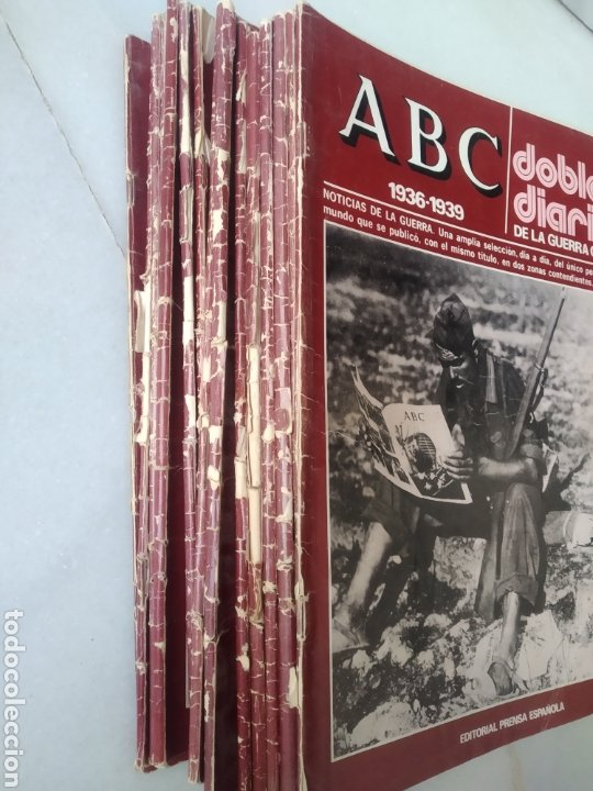Coleccionismo de Los Domingos de ABC: ABC DOBLE DIARIO DE LA GUERRA CIVIL. NÚMEROS DEL 1 AL 15. - Foto 9 - 246720325