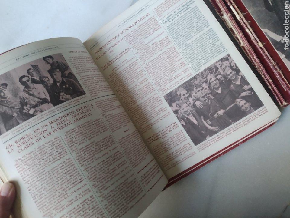 Coleccionismo de Los Domingos de ABC: ABC DOBLE DIARIO DE LA GUERRA CIVIL. NÚMEROS DEL 1 AL 15. - Foto 10 - 246720325