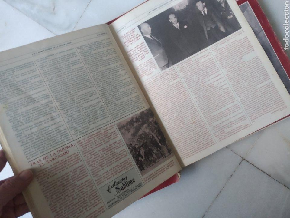 Coleccionismo de Los Domingos de ABC: ABC DOBLE DIARIO DE LA GUERRA CIVIL. NÚMEROS DEL 1 AL 15. - Foto 11 - 246720325