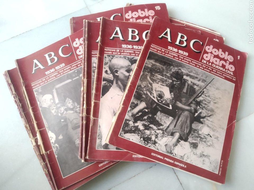 ABC DOBLE DIARIO DE LA GUERRA CIVIL. NÚMEROS DEL 1 AL 15. (Coleccionismo - Revistas y Periódicos Modernos (a partir de 1.940) - Los Domingos de ABC)