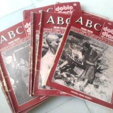 Coleccionismo de Los Domingos de ABC: ABC DOBLE DIARIO DE LA GUERRA CIVIL. NÚMEROS DEL 1 AL 15.. Lote 246720325