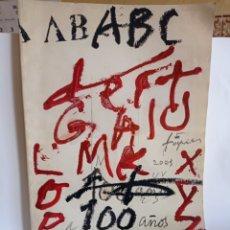 Coleccionismo de Los Domingos de ABC: ANTOLOGIA DEL PERIODICO DEL SIGLO .ABC.. Lote 247089160