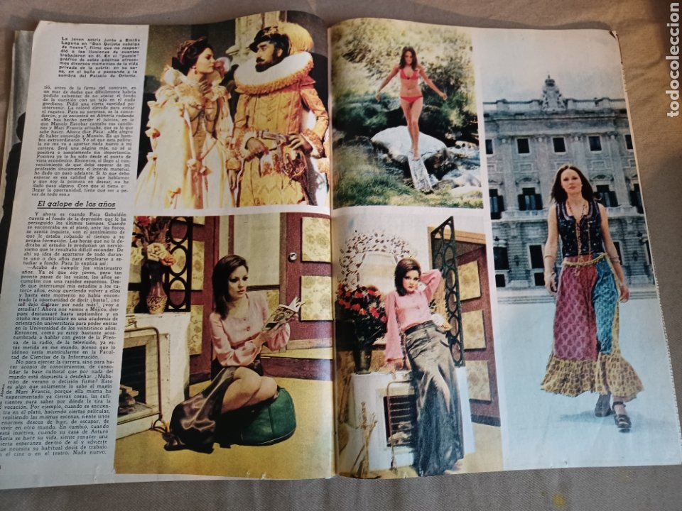 Coleccionismo de Los Domingos de ABC: REVISTA 1973 CARTAS ENTRE MENENDEZ PIDAL Y SAINZ RODRÍGUEZ- REPORTAJE MARI FRANCIS CAZADOR E.PARDO - Foto 7 - 248450035