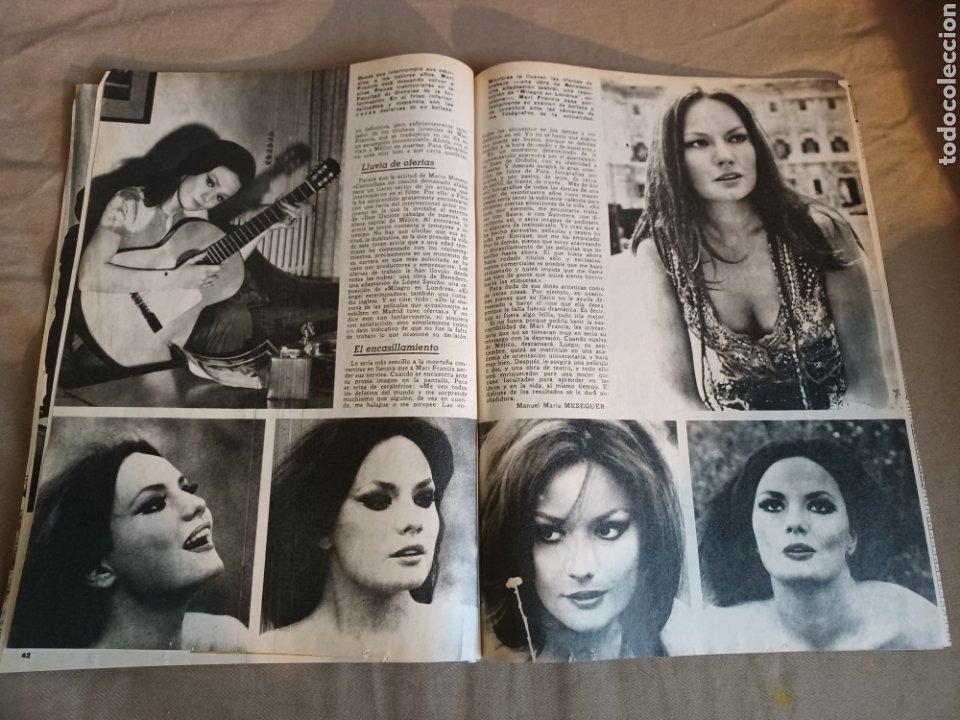 Coleccionismo de Los Domingos de ABC: REVISTA 1973 CARTAS ENTRE MENENDEZ PIDAL Y SAINZ RODRÍGUEZ- REPORTAJE MARI FRANCIS CAZADOR E.PARDO - Foto 8 - 248450035