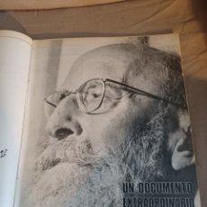 Coleccionismo de Los Domingos de ABC: REVISTA 1973 CARTAS ENTRE MENENDEZ PIDAL Y SAINZ RODRÍGUEZ- REPORTAJE MARI FRANCIS CAZADOR E.PARDO. Lote 248450035