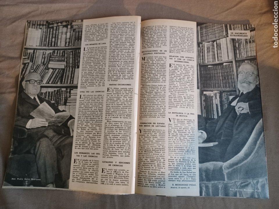 Coleccionismo de Los Domingos de ABC: REVISTA 1973 CARTAS ENTRE MENENDEZ PIDAL Y SAINZ RODRÍGUEZ- REPORTAJE MARI FRANCIS CAZADOR E.PARDO - Foto 3 - 248450035