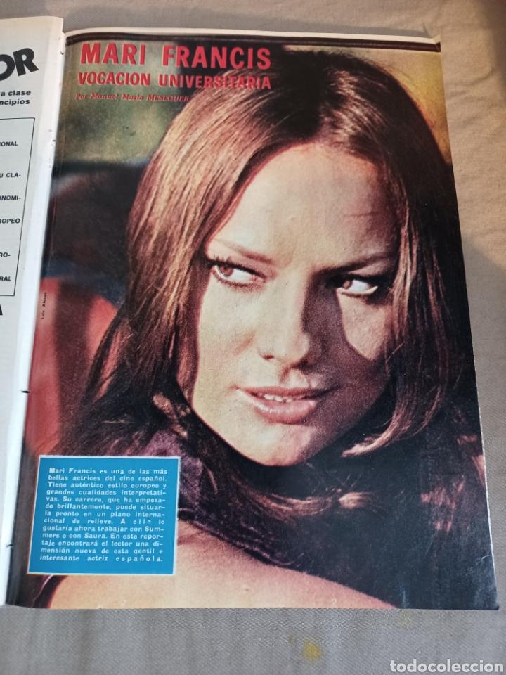 Coleccionismo de Los Domingos de ABC: REVISTA 1973 CARTAS ENTRE MENENDEZ PIDAL Y SAINZ RODRÍGUEZ- REPORTAJE MARI FRANCIS CAZADOR E.PARDO - Foto 4 - 248450035